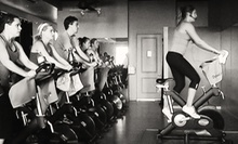 5 or 10 Spinning Classes at RhythmCycle (Up to 76% Off)