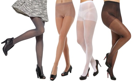 Women's Non-Run Sheer Footed Pantyhose
