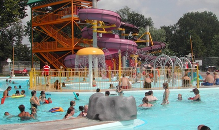 Waterpark Visit for Two or a Family of Five at Splash Island Waterpark (Up to 43% Off)