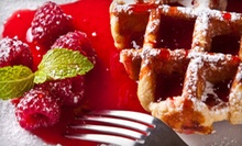 Small-Plate Brunch and Mimosas for Two or Four at Therapy Wine Bar (Up to 87% Off)