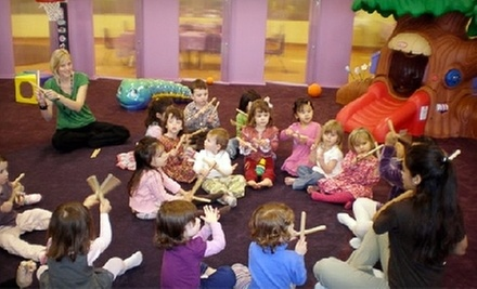 Eight-Hour Indoor-Playground Outing for One or Two Children at MoBu Kids in Falls Church, VA (Up to 57% Off)