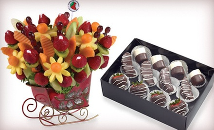 Fruit Bouquets from FruitFlowers (Half Off). Two Options Available.