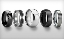C$20 for a Tungsten-Carbide Ring at Silver Street Jewellers (Up to C$200 Value)