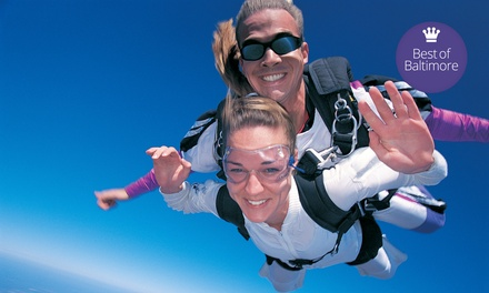 $155 for One Tandem Skydive from Skydive Baltimore ($284 Value)