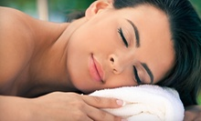 $195 for a Spa Package with Massage, Facial, Eye Treatment, and More at The Woodhouse Day Spa ($390 Value)