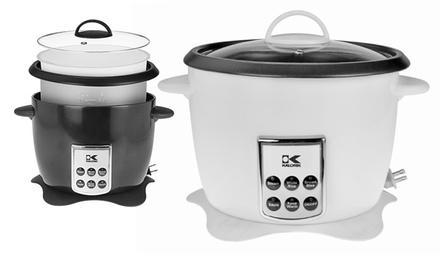 Kalorik Multifunctional Digital Rice Cooker with Retractable Power Cord