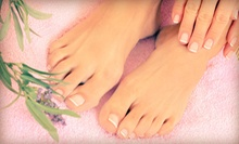 One or Two Gel Manicures and Basic Pedicures or a Facial with Basic Pedicure at Jade Orchid Spa Studio (Up to 58% Off)