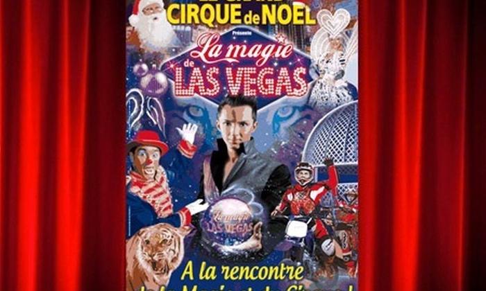 Arena Production - Cirque Medrano: 1 place en tribune d'honneur pour l'une des dates du Grand cirque Medrano de Noel à Honfleur ou Lisieux à 10€