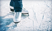 Ice Skating for Two or Four with or Without Skate Rental at Oilers Ice Center (Up to 64% Off)