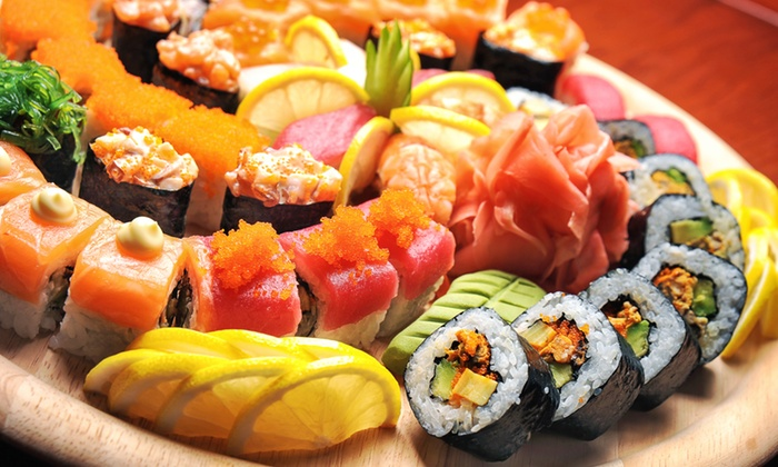 Sushi Cafe - London: Sushi Cafe: All-You-Can-Eat Buffet from £14.99