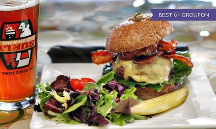 Farm-to-Table Cuisine at Peoples Organic Coffee & Wine Café (47% Off). Three Options Available.
