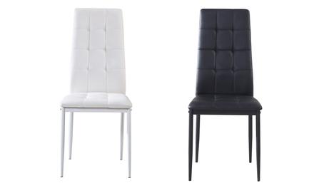 Conjunto de 4 cadeiras Sophia por 99 € (60% de desconto) com envio gratuito