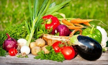 $25 for a Large Box of Certified-Organic Seasonal Produce from Bella Organic Farm ($50 Value)