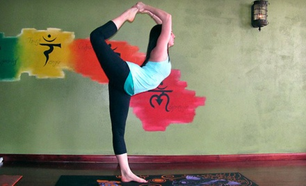 $49 for One Month of Unlimited Hot-Yoga Classes at Yoga Flow (Up to $99 Value)