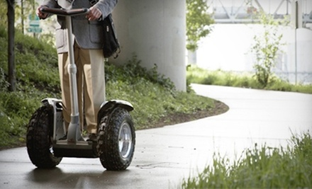 90-Minute or Three-Hour Segway Tour of Center City from DeTours (Up to 58% Off)