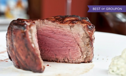 $25 for $45 Worth of Steaks and Seafood for Dinner at Chops