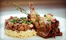 French Cuisine and Drinks for Lunch for Two or Dinner for Two or Four at Flaming Torch Restaurant (Half Off)