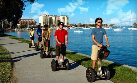 Two-Hour Segway Tour of Tampa or St. Petersburg from Magic Carpet Glide and St. Petersburg Segway Tours (54% Off)