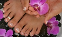 Mani-Pedi and Paraffin Wax or Gel Mani/Regular Pedi with Hand/Foot Massage at Paris & Company Nail Salon (Up to 64% Off)