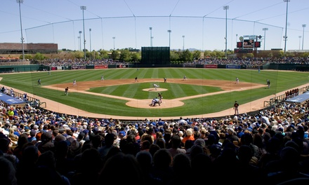 Chicago White Sox or Los Angeles Dodgers Spring-Training Game at Camelback Ranch (Up to 53% Off)