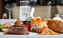 Locally Sourced American Cuisine at The Bank Restaurant (Up to 53% Off). Three Options Available.