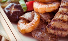 $15 for $30 Worth of Hibachi Grill Fare at Kobe Steak House of Japan