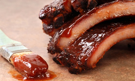$12 for $22 Worth of Barbecue and Drinks at Ribs USA