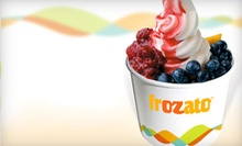 Five 12-Ounce Cups of Frozen Yogurt, or $5 for $10 Worth of Frozen Yogurt at Frozato