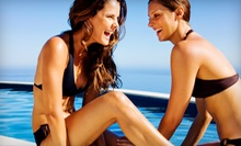 One, Three, or Five Full-Body Airbrush Spray Tans at Antonio Michael Salon (Up to 61% Off)