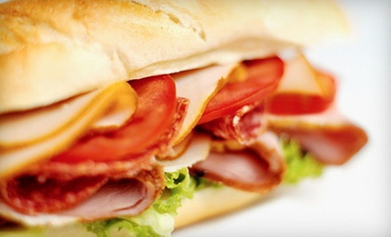 $10 for $20 Worth of Subs, Chips, and Drinks at Larrys Giant Subs