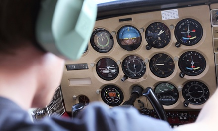 $119 for a Discovery Flight Package with 60-Minutes of In-Flight Training at Air Trek North ($281.90 Value)