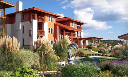 groupon daily deal - 1- or 2-Night Stay with Daily Breakfast at Vintage Villas Hotel & Event Center in Austin, TX