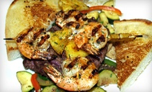Fish-Taco Lunch for Two, Surf n Turf Dinner for Two or Four, or $15 for $30 Worth of Lunch at the Fish Bucket Grill
