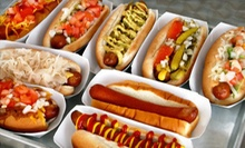 Hot Dogs, Chips, and Drinks for Two or $5 for $10 Worth of Hot Dogs and Drinks at Pop's Hot Dogs