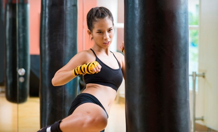 5 or 10 Kickboxing Classes at Elite Freestyle Karate (Up to 81% Off)