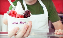 $5 for $10 Worth of Frozen Yogurt and Toppings at Zen Beri