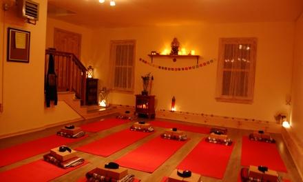 Five Yoga Classes at Bonafide Yoga (45% Off)