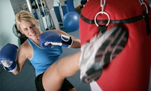 6 or 12 Kick-Boxing Classes at Lions Kickboxing Fitness (Up to 65% Off)