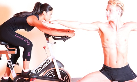 $55 for 10 Cycling, Yoga, or Hybrid Fitness Classes at Lotus Kitty Yoga and Power Cycling ($150 Value)