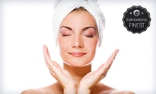 Facial Package with Brow Shaping or Eurowave Body-Toning Package with Local Body Wrap at NVE Institute (Up to 57% Off)