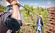 $37 for a 3.5-Hour Zipline Tour ($75 Value)