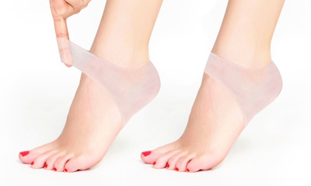 Silicone Gel Heel and Ankle Sleeves (2-Pack)