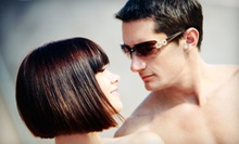Men's Haircut with Hot-Towel Treatment or a Women's Haircut with Deep Conditioning at The Art of Hair (Up to 57% Off)