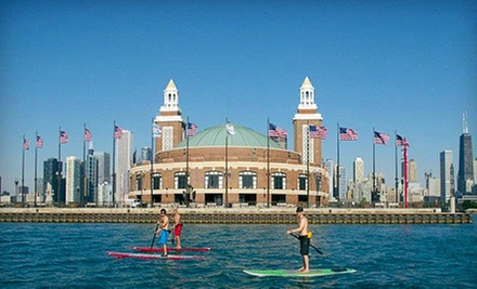 Fireworks Expedition Paddle for One, Two, or Four from Chicago SUP (Half Off)