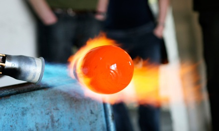BYOB Glass-Blowing Class for Two or Four at Benzaiten Center for Creative Arts (Up to 53% Off)