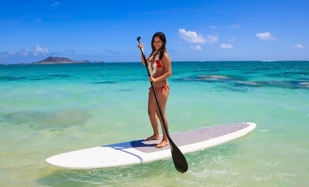 Standup-Paddleboard Rental or Guided Tour from Wayward Captain Paddleboards (Up to 58% Off)