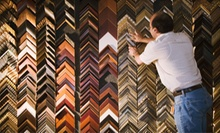 Custom Framing at Merion Art & Repro Center  (Up to 58% Off). Two Options Available.