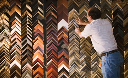 Custom Framing at Merion Art &amp; Repro Center  (Up to 58% Off). Two Options Available. 