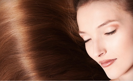 One, Two, or Three Organic ThermaFuse Hair Straightening Treatments at Kenny&#x27;s Hair Salon (Up to 61% Off)