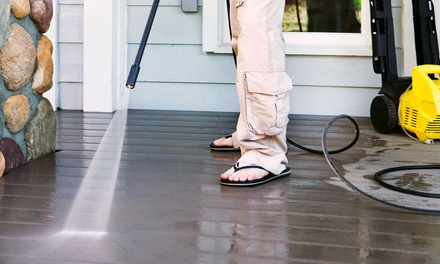 Power Washing Treatment for Homes and Driveways from Quadro Quick Cleans (Up to 49% Off). Four Options Available